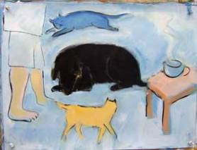 sleeping-Black-Dog
